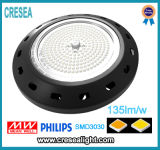 Alto precio de la iluminación de la bahía del LED, alta luz industrial de la bahía de 150W LED