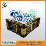 O dragão do trovão da máquina de jogo da arcada do caçador dos peixes vai jogo da pesca