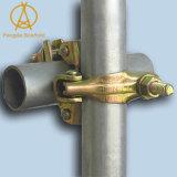 Double coupleur pour la pipe d'échafaudage