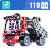 Kind-blockt Plastikaufbau-LKW Spielzeug