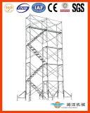 経済的なデザインの鉄骨フレームの足場システム