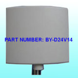 2.4G 18dBi Mimo Panel-Antenne
