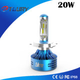 Auto preço de fábrica do uso H4 H7 H3 da luz do carro do diodo emissor de luz 20W