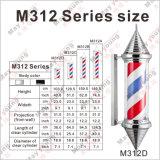 Strumentazione del salone di fabbricazione M312, migliore segno Palo del barbiere