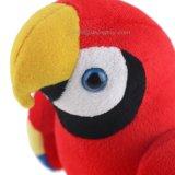 아이를 위한 다채로운 견면 벨벳 앵무새 장난감