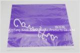 Мешок застежки -молнии PE Resealable малой ясности машины пластичный с белым печатание