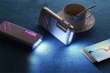 carregador portátil do banco da potência 10000mAh para a tabuleta do telefone com lanterna elétrica