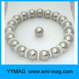 """esferas magnéticas fortes de 1 de """" ímã da esfera 25mm"""
