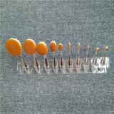 Il modo compone i campioni liberi delle spazzole per l'imballaggio cosmetico