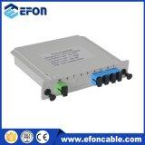 Gpon 1つの4つの光ファイバディバイダー、OEM 1X2 PLCの光ファイバディバイダーボックス、4方法144コアディバイダー