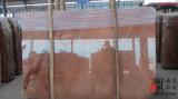 床および壁のための高品質の建築材料の赤いアリカンテの自然な石造りの大理石の平板