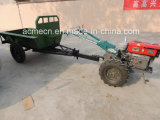 農業機械のKubotaの歩くトラクター