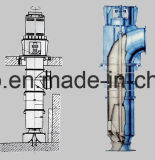 Desempenho da cavitação da série hl de bomba de água misturada vertical do bom