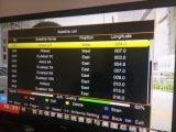 Sunplus 1507A H. 265 Mini HD DVB-S2 com árabe IPTV Suporte Wi-Fi, 3G, LAN