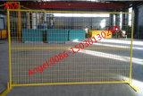 ASTM4687-2007 galvanizó la cerca temporal soldada del acoplamiento de alambre para el mercado de Canadá