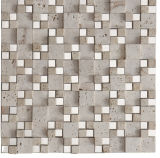 Ultimo marmo di pietra naturale delle mattonelle della parete delle mattonelle di mosaico (FYSM016)