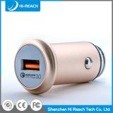 Cargador del adaptador del coche del USB de la aleación de aluminio DC5V/3.1A para el teléfono móvil