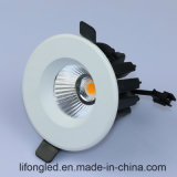 УДАР утопленный 9W СИД Downlight Dimmable 7W
