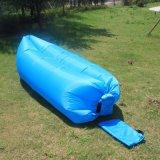 Strato di campeggio Windbed del ritrovo della spiaggia del sacchetto dell'aria di sofà di sonno pigro gonfiabile della base