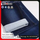Super Soft 16s Terry Denim Tecido com High Elastic