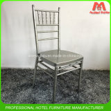Стул Wholeslae штабелированный сталью серебряный Chiavari цены фабрики дешевой