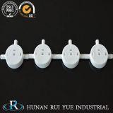 Résistance de température élevée isolant le disque en céramique de soupape d'alumine en céramique du robinet 95%