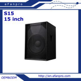 15 '' S15 Subwoofer - tacto