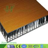 Panneau en aluminium de nid d'abeilles pour l'aviation/décoration de bateau/bureau
