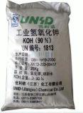 Escama el 90% del hidróxido de potasio --KOH el 90% del grado de la industria