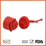 Стрейнер листьев Infuser чая Rose силикона качества еды Ws-If063 для чашки кружки, бака чая