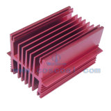Perfil de alumínio personalizado para os dissipadores de calor (ISO9001: 2008 TS16949: 2008)