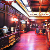 El panel de pared de madera tallado Luxry clásico del estilo (GSP9-080)