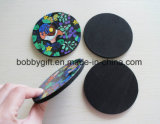 Custom Novelty Cup Non Skid Mat EVA Coasters Factory