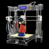 Service du matériau Prusai3 OEM/ODM d'ABS de SLA d'imprimante du bâtiment 3D d'Anet A6 avec les composants et des accessoires de l'imprimante