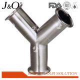 ステンレス鋼の衛生90度によって溶接される二重肘