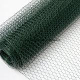 電流を通された六角形ワイヤーNetting/PVC上塗を施してある六角形ワイヤー網
