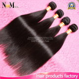 Выдвижения человеческих волос бразильского Weave прямых волос дешевые