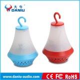 Hochwertiger FM Radiolautsprecher Bluetooth Stereobaß-Lautsprecher mit Energien-Bank mit LED helles 2000mAh