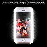 Caja impermeable del teléfono del artefacto del Uno mismo-Temporizador del cargador de batería de Llluminated para el iPhone 6 6s