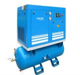 Le pétrole électrique stationnaire injectent le compresseur d'air industriel rotatoire (K3-08D)