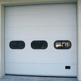 Porte automatique sectionnelle approuvée de garage de la CE