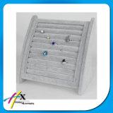 Luxuxform-Ring-Armband-Schmucksache-Kasten-Samt-Halter-Standplatz-Bildschirmanzeige
