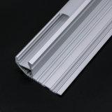 Perfil de aluminio de la tira de 4134 LED para la iluminación del suelo/de la pared/de la puerta