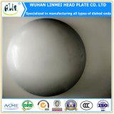 ステンレス鋼304の材料によって皿に盛られるヘッドエンド楕円ヘッド