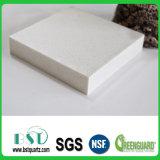 Cut-to-Size la pierre artificielle extérieure solide de quartz pour la décoration de guichet