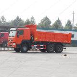 30tons 6X4 덤프 팁 주는 사람 트럭에 강력한 엔진 25tons