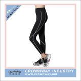Kundenspezifische Frauen-Gymnastik-Hosen-Yoga-Abnützung-Großhandelsgamaschen