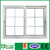 Prix bon marché de l'aluminium Windows coulissant avec l'écran Pnoc0025slw