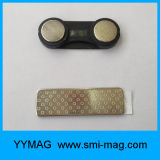 Distintivo di nome magnetico di plastica della modifica di nome del magnete di alta qualità da vendere