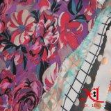 Tela Chiffon de seda con la impresión para la alineada/el paño/la camiseta